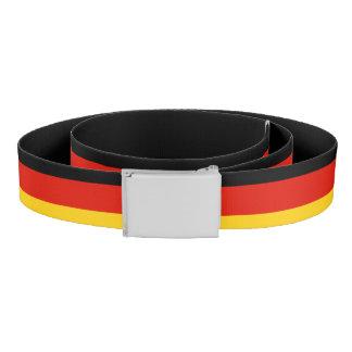 German flag canvas belt   Germany pride