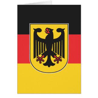 German Flag Greeting Card