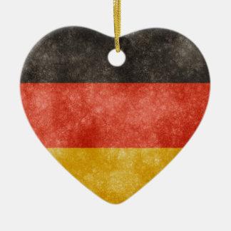 German Flag Ceramic Ornament