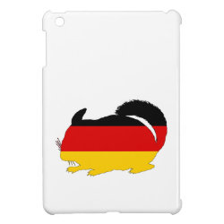 German Flag - Chinchilla iPad Mini Cover