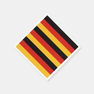 GERMAN FLAG COLORS NAPKIN
