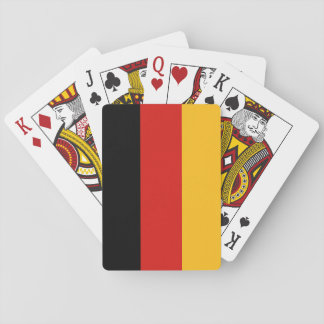 GERMAN FLAG COLORS PLAYING CARDS