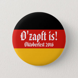 GERMAN FLAG COLORS & smiley + your ideas Button