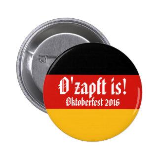GERMAN FLAG COLORS & smiley + your ideas Button