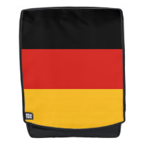 GERMAN FLAG COLORS stripes   your ideas Backpack