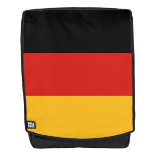 GERMAN FLAG COLORS stripes + your ideas Backpack
