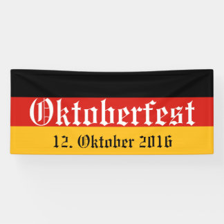 GERMAN FLAG COLORS + your ideas Banner