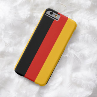 GERMAN FLAG COLORS + your ideas Barely There iPhone 6 Case