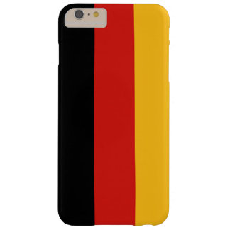 GERMAN FLAG COLORS + your ideas Barely There iPhone 6 Plus Case
