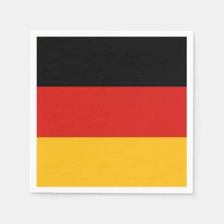 GERMAN FLAG COLORS + your ideas Paper Napkin