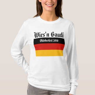 GERMAN FLAG COLORS + your ideas T-Shirt