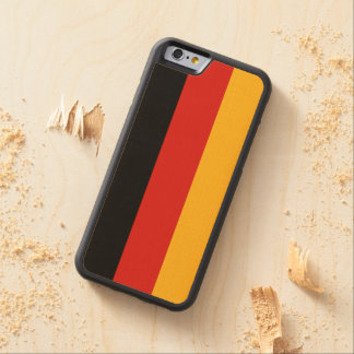 GERMAN FLAG COLORS + your ideas Carved® Maple iPhone 6 Bumper Case