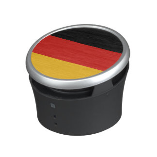 GERMAN FLAG COLORS + your text Speaker