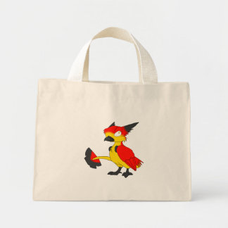 German Flag-Coloured Reptilian Bird Tote Bag