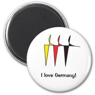 German flag colours Magnet