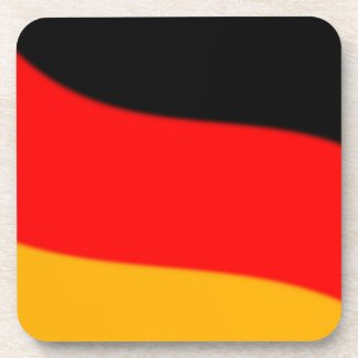 German Flag Cork Coaster