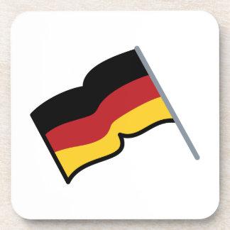 German Flag Beverage Coaster