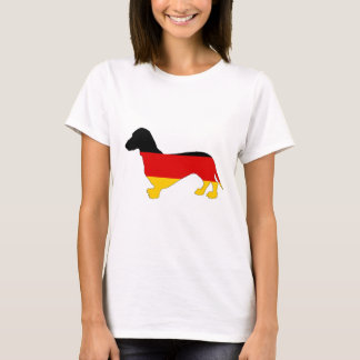 German Flag - Dachshund T-Shirt