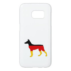 German Flag - Dobermann Pinscher Samsung Galaxy S7 Case