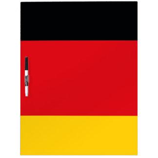 German Flag Dry-Erase Board