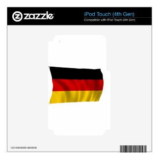 German Flag Flag German Symbol Europe European Skins For iPod Touch 4G
