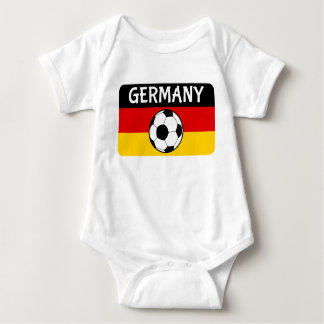 German Flag Football Baby Bodysuit