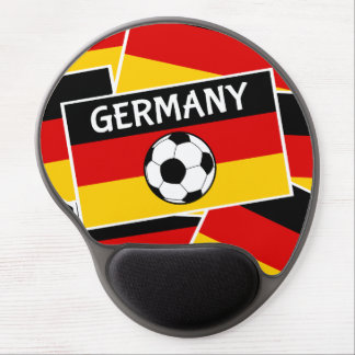 German Flag Football Gel Mouse Pad