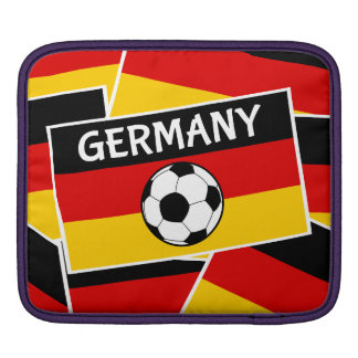 German Flag Football Sleeves For iPads