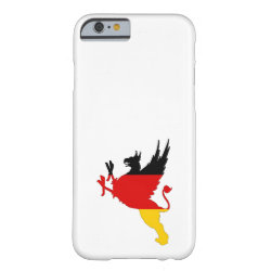 German Flag - Griffin Barely There iPhone 6 Case