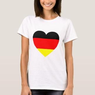 German Flag Heart T-Shirt