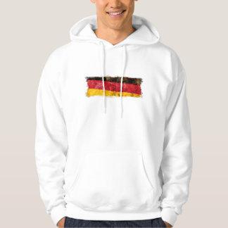 German Flag Hooded Sweatshirt