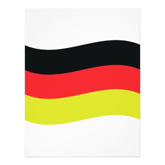 german flag icon flyer