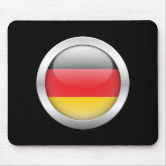 German Flag in Orb Mouse Pad