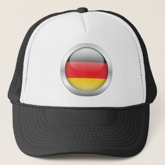 German Flag in Orb Trucker Hat