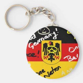 German Flag Keychain
