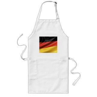German Flag Long Apron