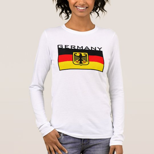 German Flag Long Sleeve T-Shirt