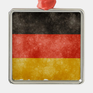 German Flag Metal Ornament