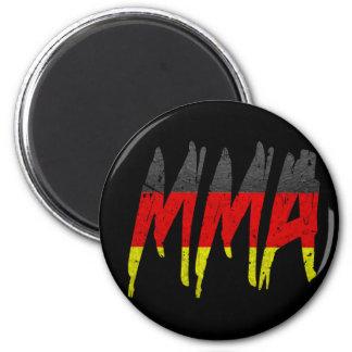 German Flag MMA 2 Inch Round Magnet