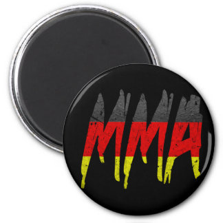 German Flag MMA Refrigerator Magnet