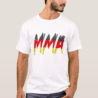 German Flag MMA T-Shirt