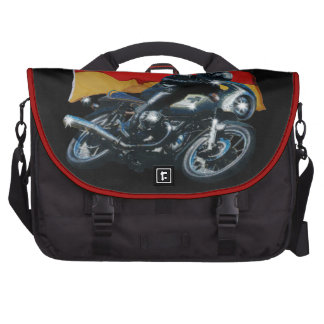 German Flag & Motorbike Rider Bags For Laptop