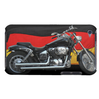 German Flag, Motorcycle Patriotic Design iPod Touch Case-Mate Case