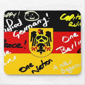 German Flag Mouse Pad