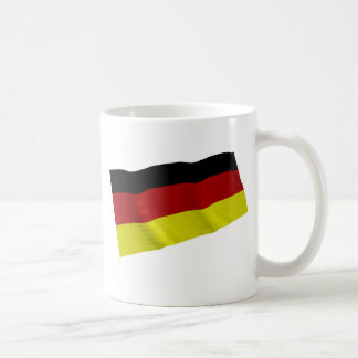 german flag classic white coffee mug