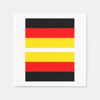 German Flag Napkin