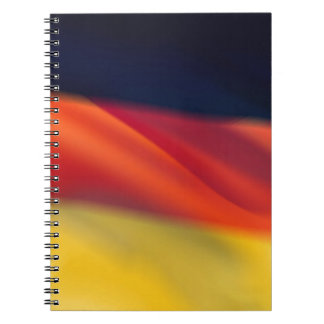 German Flag Notebook