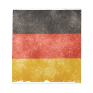 German Flag Notepad