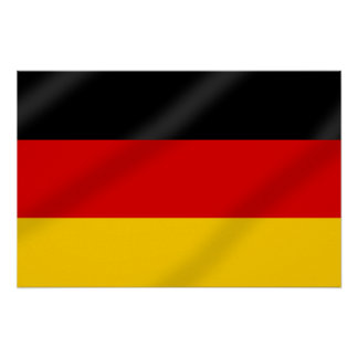 German Flag of Germany gifts Poster