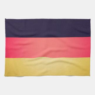German flag of Germany Hand Towels